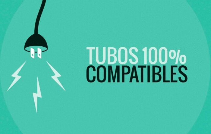 Tubos de LED compatibles