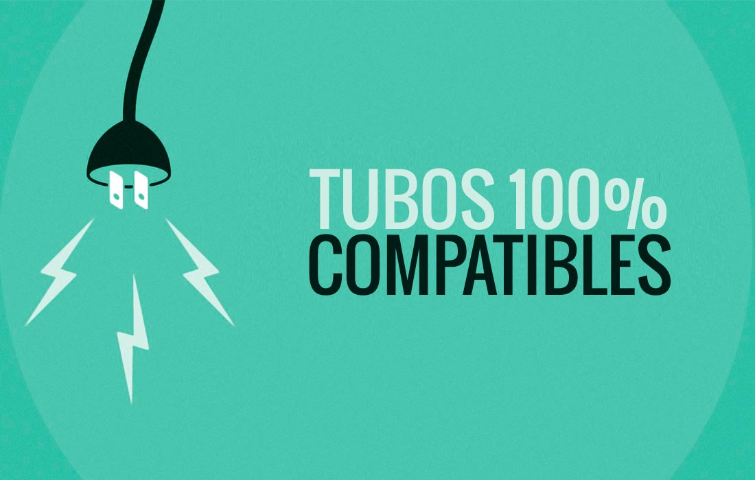 Tubos de LED compatibles