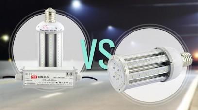 Bombillas LED driver interno vs externo