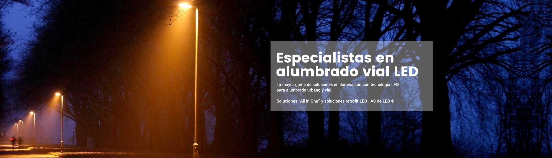 Banner ASDELED - Alumbrado LED vial y urbano LED