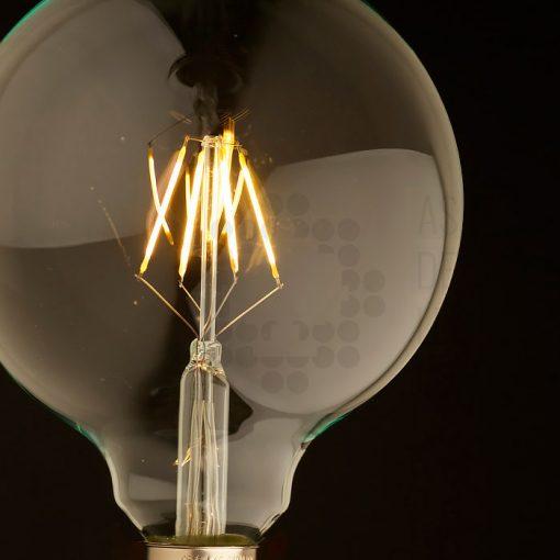 Bombilla filamento LED globo - BOC3,5FILRW-02 - AS de LED ®