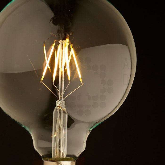 Bombilla filamento led 4w boc4filg125ix as de led - Bombillas de leds ...