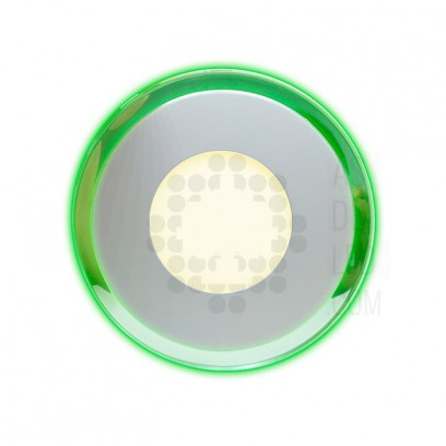 Foco LED empotrable - PLR-CMBLSTRE Verde