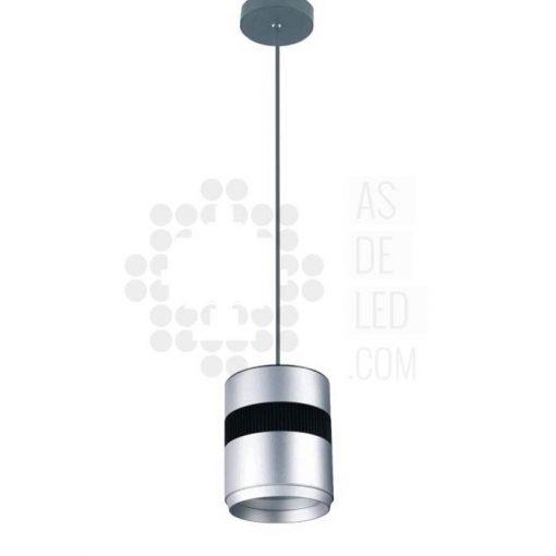 Comprar lámpara LED colgante de aluminio y forma cilindro 10W y 20W
