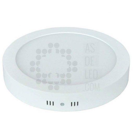 Comprar plafón LED de superficie con 18W de potencia y diseño redondo - Color blanco