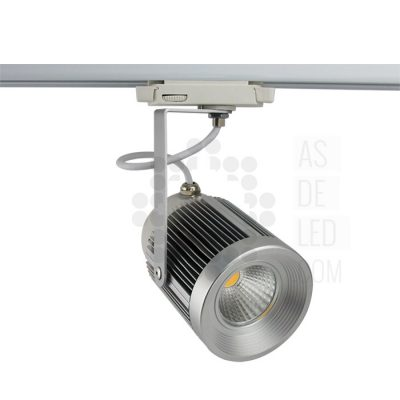 Foco LED para carril 20W - FC20CRLWN - AS de LED ®