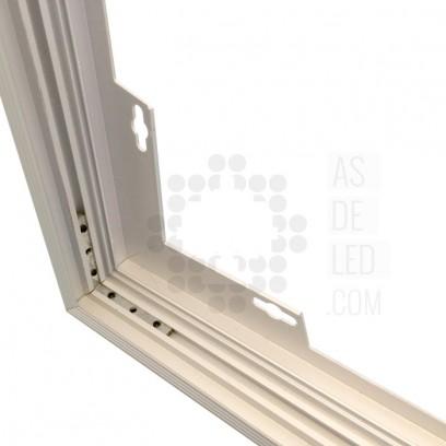 Estructura panel LED 60cm - ACCPL60X60SUPLK 02