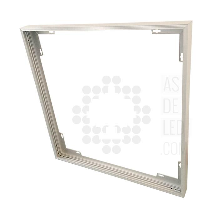 Estructura para instalaci n de panel led en superficie for Paneles led de superficie