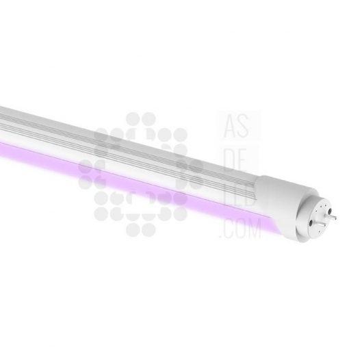 Comprar tubo LED con luz rosa para carnicería y productos de carne - ASDELED