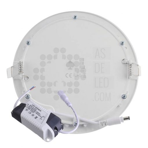 Comprar placa downligt LED 18W redondo - PLR20EPDT (trasera)