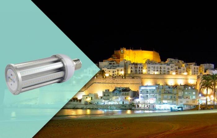 Bombillas LED en Peñiscola
