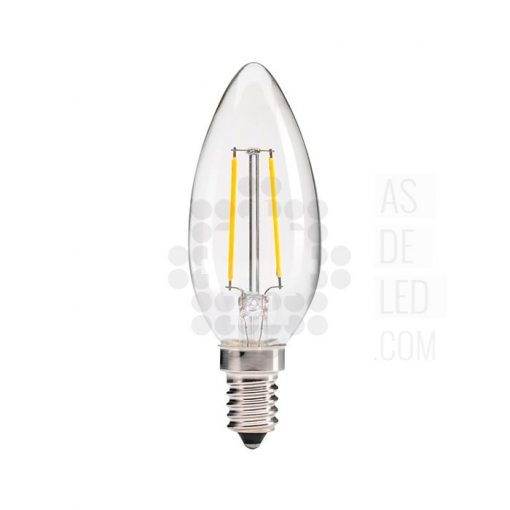 Bombilla filamento LED vela - BOC-FILB35HN
