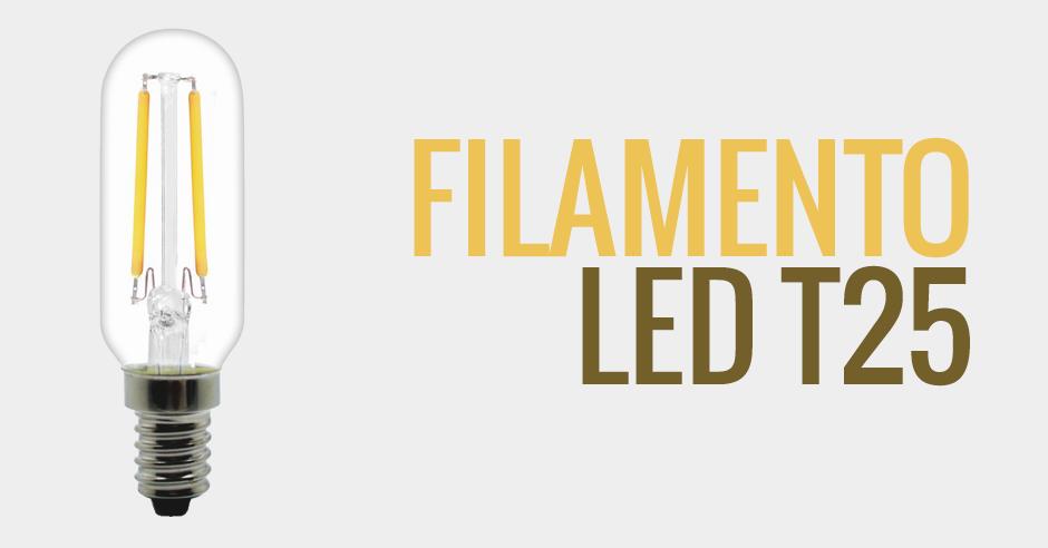 Bombilla filamento LED T25 - BOC2FILT25HN