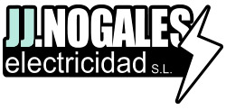 Logotipo JJ Nogales - AS de LED