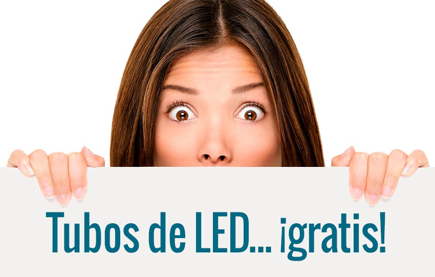 Tubos de LED gratis