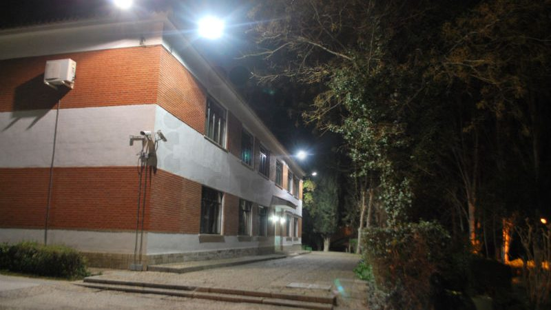 Iluminación LED en academia Guardia Civil 04