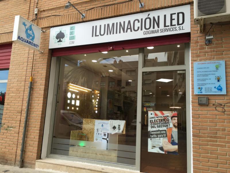 Inauguraci n tienda de iluminaci n led en alaqu s - Articulos de iluminacion ...