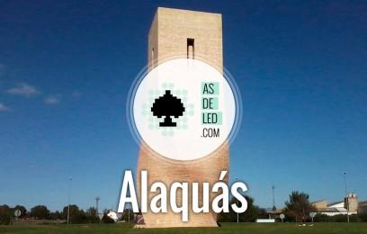 Inauguración tienda iluminación LED Alaquás
