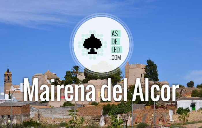 Iluminación LED en Mairena del Alcor Sevilla