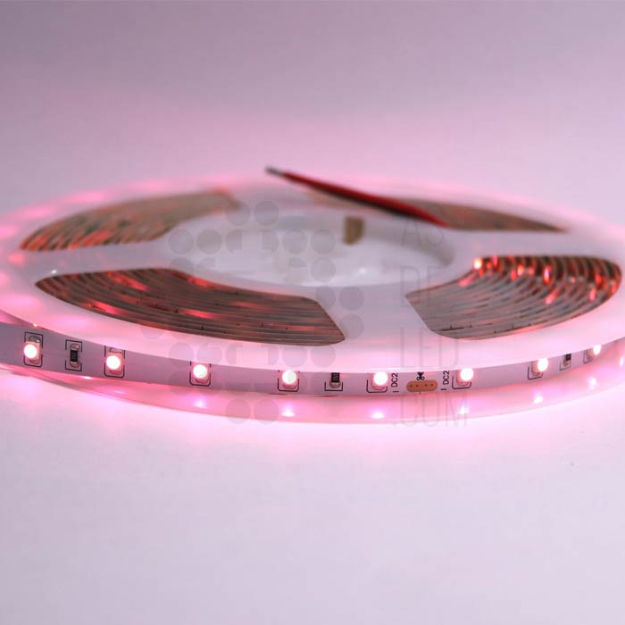 Comprar tira de LED con luz rosada para carniceria y carnes rojas - 5 metros