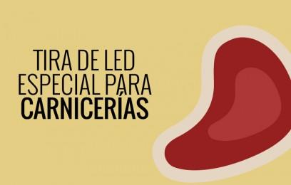 Tira de LED para carniceria - Luz rosa