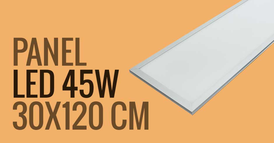 Panel de LED rectangular de 45W - AS de LED ®