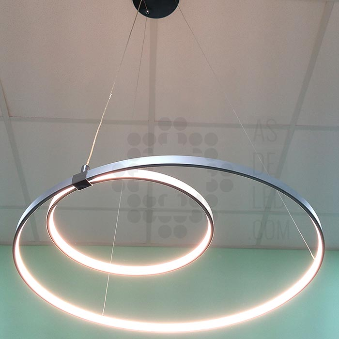 Lampara LED trazo 36W - aros - LA36EPSSH-01