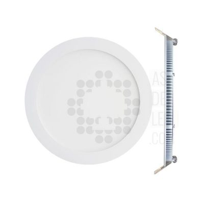 Panel LED redondo 12W slim - PLR12EPDT