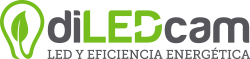 Logotipo diLEDcam - Torrelavega