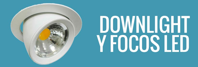 Comprar focos LED - Downlights LED y focos LED industriales