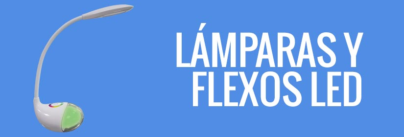 Comprar lámparas LED y flexos de LED - Lámparas de mesa con luces LED