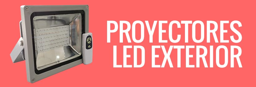 Comprar focos LED para exterior - Proyectores de LED con IP65 e IP68
