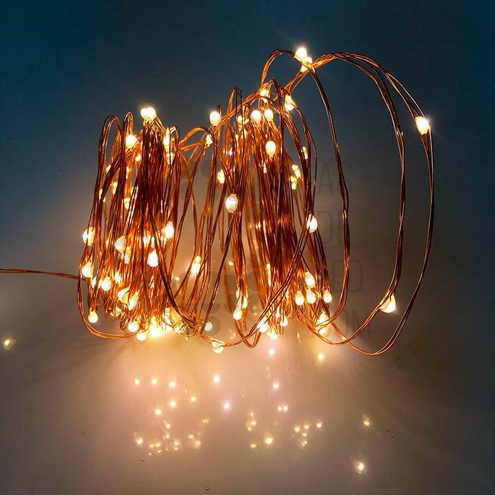 Comprar tira led navidad 5 metros o 10 metros luz for Luz blanca o calida