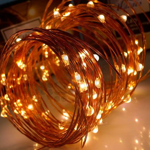 Comprar tira LED para navidad - Luz calida, blanca o RGB 02