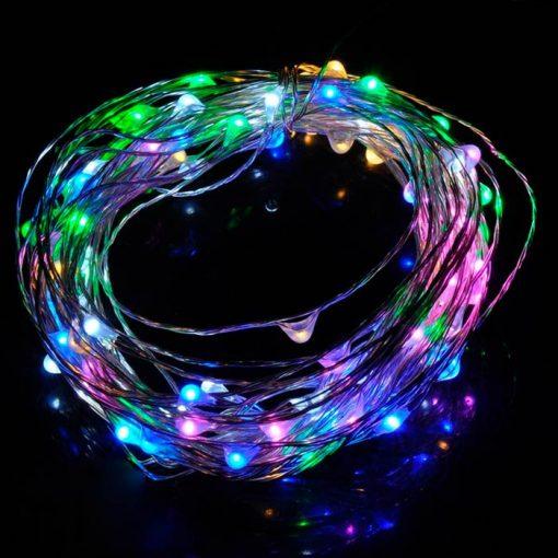 Comprar tira LED para navidad - Luces de colores RGB