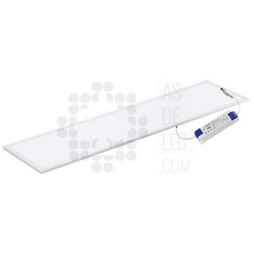 Comprar panel LED 40W 30X120 - Marco blanco - Driver LIFUD - Slim