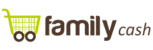 Logotipo FAMILY CASH hipermercados