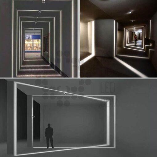 Comprar perfilador LED para iluminar ventanas y puertas - Luz 360º 02