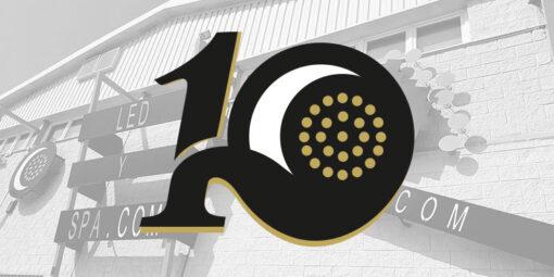 10 aniversario de la empresa LED Y SPA - AS DE LED