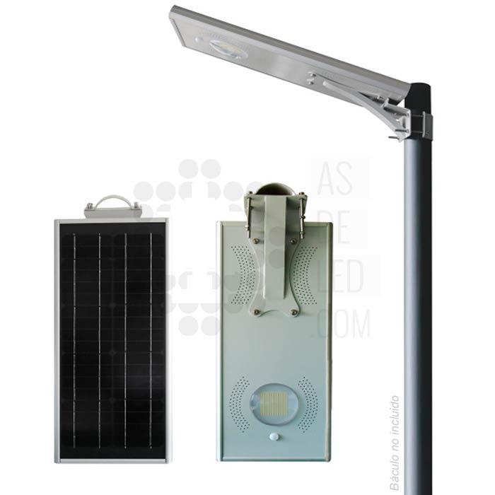 Comprar farola LED solar de 15W y 12V - FAS15EPOS 02