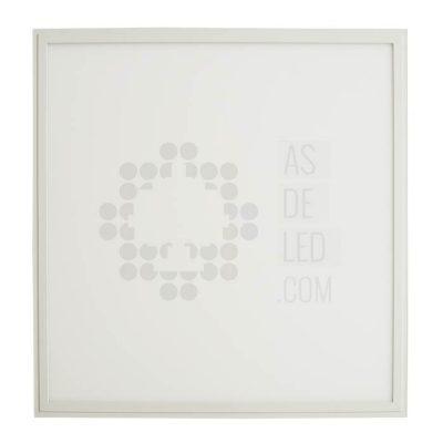 Comprar panel de LED cuadrado de 60X60CM con marco blanco y driver LIFUD