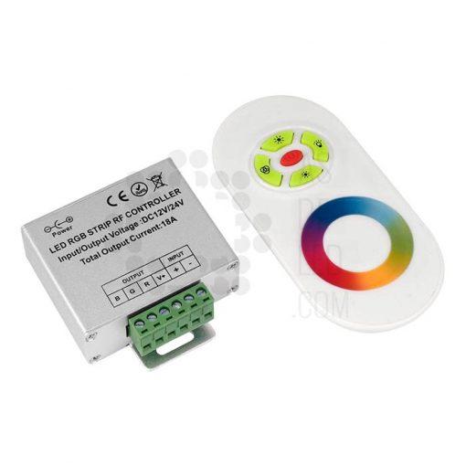 Comprar controlador LED con mando para tira LED RGB (CORGB24KS)