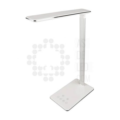 Flexo LED 7W 4 modos, regulable y USB - FLX7ST14-01 blanco