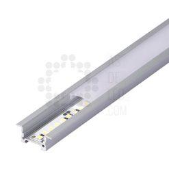Comprar Perfil de aluminio para tira LED - Rectangular empotrado