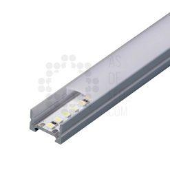 Comprar Perfil de aluminio para tira LED - Rectangular superficie
