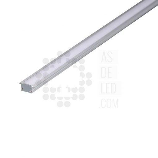 Comprar Perfil de aluminio para tira LED - Rectangular empotrado 02