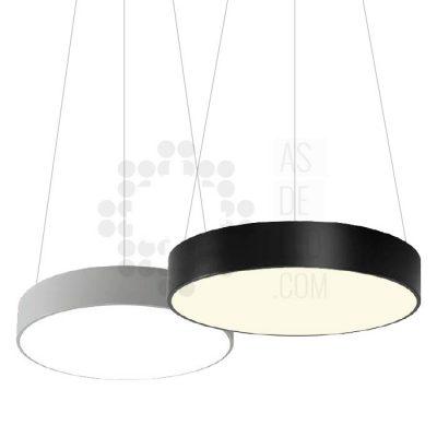 Comprar lampara LED colgante grande circular