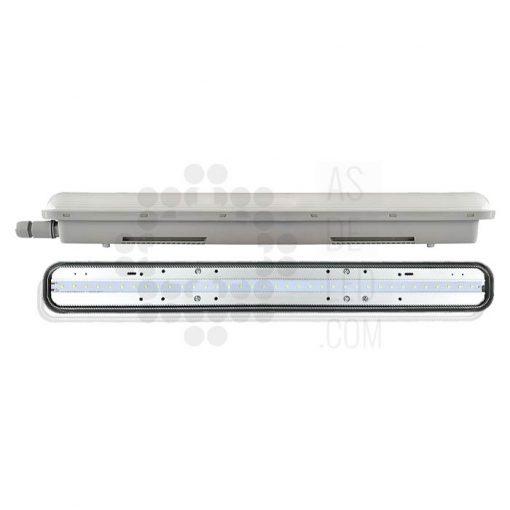 Comprar luminaria LED estanca IP65 con LED integrado - 02
