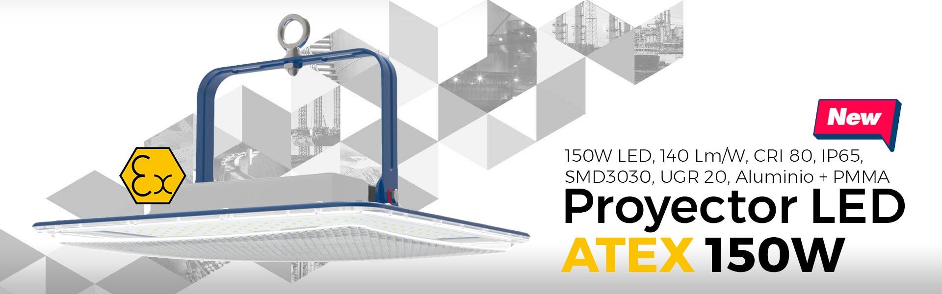 Comprar proyector LED para gasolineras con certificado ATEX - 150W LED