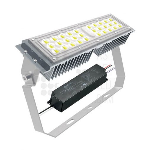 Comprar bañador de pared LED 50W 1-10V 25º - MO50LU30-297